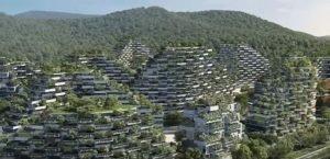 اولین شهر-جنگل در چین
