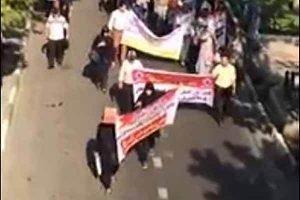 عکس راهپیمایی مالباختگان