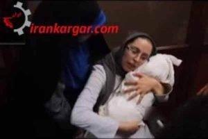 عکس کودک مقتول در آغوش مادر
