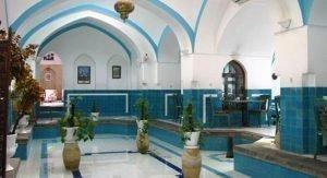 یزد - حمام خان