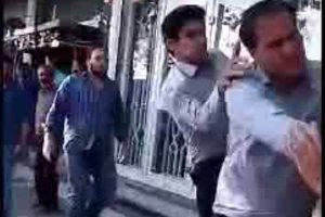 حمله به دستفروش