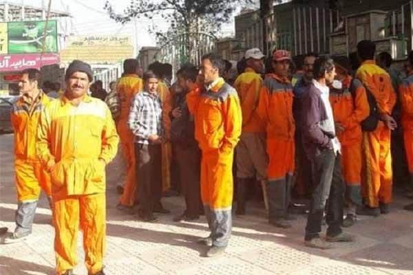 کارگران شهرداری مریوان