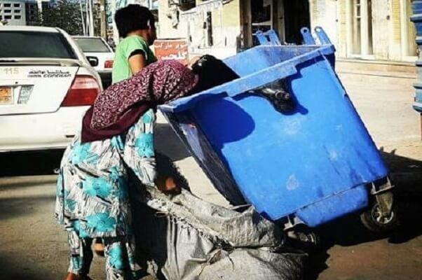 زباله گردی صبحانه