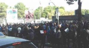 اعتراضات بلبرینگ سازی تبریز