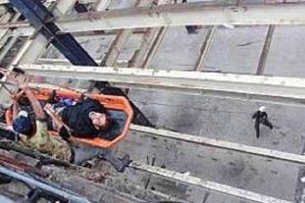 مرگ مصدوم کارگر