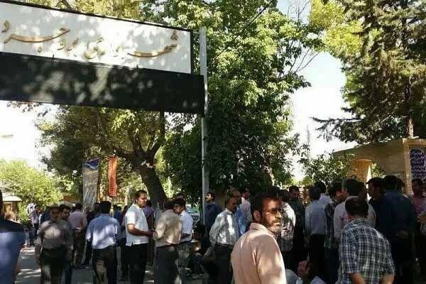 تجمع اعتراضی کارگران شهرداری