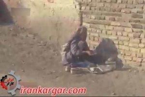 فقر در یکی از محله های تهران