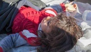 کثرت تلفات بین کودکان
