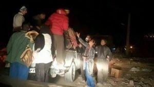 کمک کارگران به زلزله زدگان