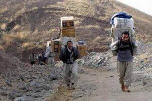 حمله نیروی انتظامی به کولبران