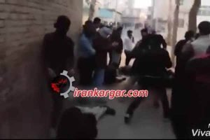درگیری و شلیک به تظاهرکنندگان