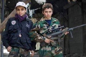 اعزام کودکان به جنگ