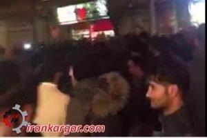 تظاهرات قزوین