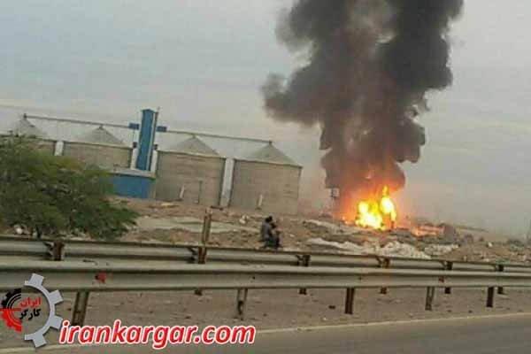 انفجار پرسی گاز دزفول