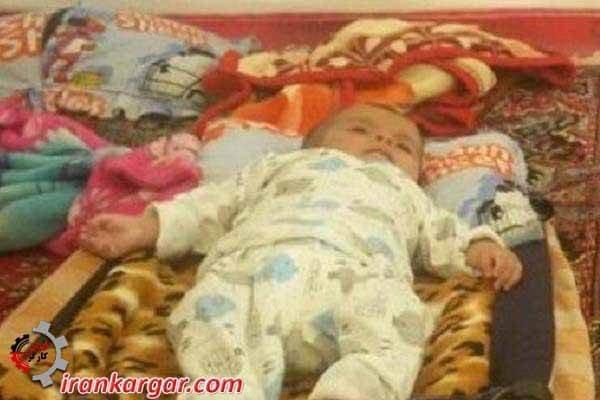 مرگ یک نوزاد بر اثر سرما