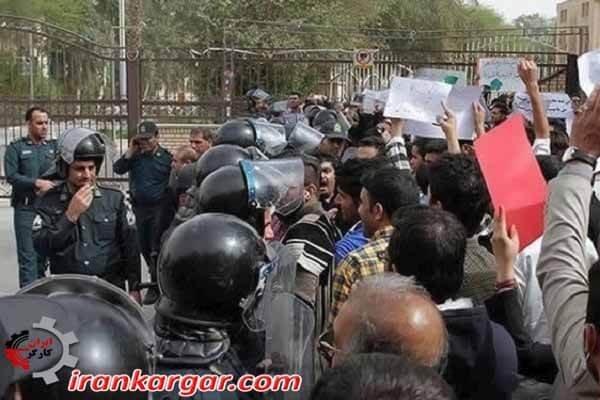 دستگیری جوانان اهواز