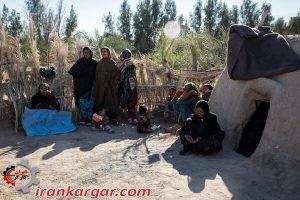 حسین آباد روستایی در دل کویر
