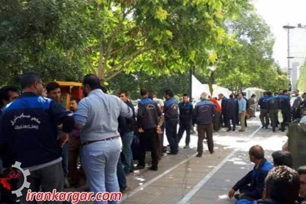 اعتراض کارگران