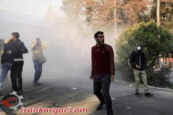 بازداشت تظاهر کنندگان