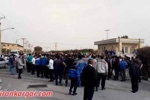 تجمع کارگران پتروشیمی ماهشهر