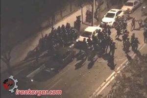 تهران تهاجم به نیروی انتظامی