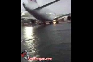 مدیریت کلان بارش برف در فرودگاه خمینی
