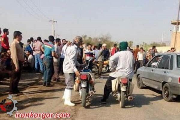 تلاش مدیران هفتتپه و نیروی انتظامی برای بازگرداندن کارگران به سرکار
