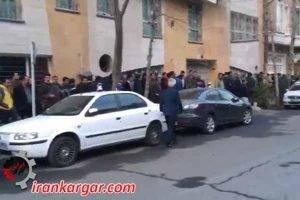 تجمع دراویش گنابادی در تهران