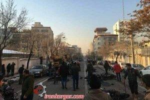درگیری نیروی انتظامی با دراویش گنابادی