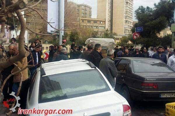 رانندگان شرکت واحد تهران