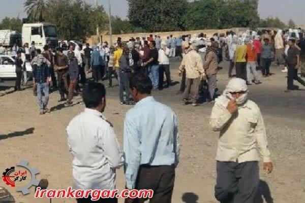 آزادی کارگران بازداشت شده شرکت نیشکر هفت تپه بدنبال اتحاد یکپارچه کارگران