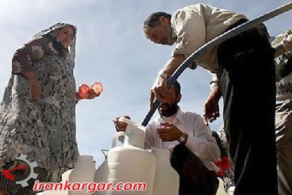 مشکل کمبود آب در ۹۶ درصد شهرهای استان خوزستان