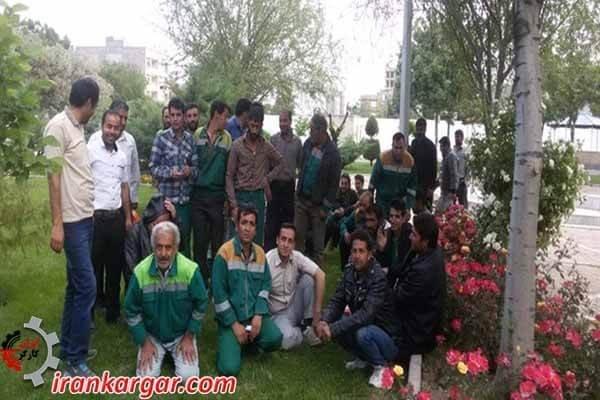 کارگران شهرداری نیشاپور