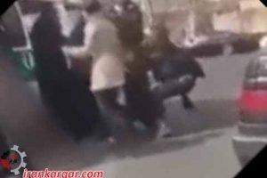 دستگیری دختران جوان