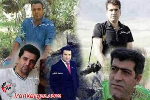 بازداشت شدگان دیماه