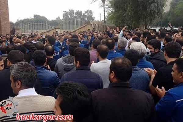 اعتصاب فولاد اهواز