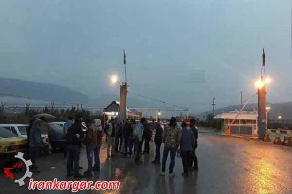 اعتصاب کارگران پبروشیمی گچساران