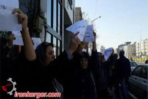 تجمع زنان در تهران