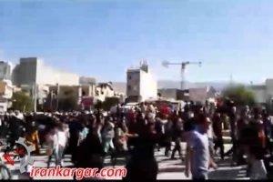 تظاهرات کازرون