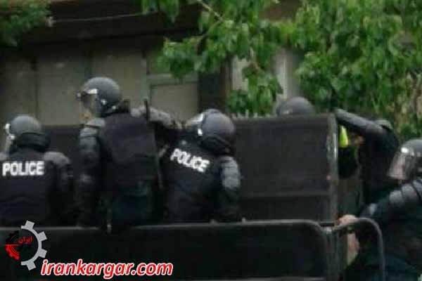 بازداشت کشاورزان اعتصاب