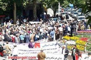 شاهرود تظاهرات