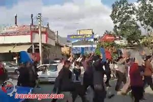 سنندج راهپیمایی