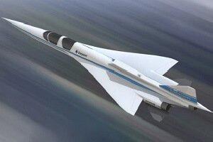 تصویر یک هواپیمای جت