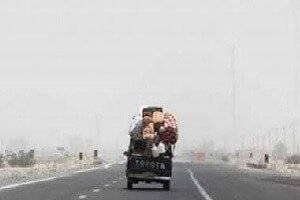 عکس مهاجرت مردم سیستان