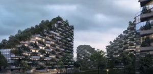 اولین شهر-جنگل در چین ۳