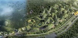 ۱ اولین شهر- جنگل در چین