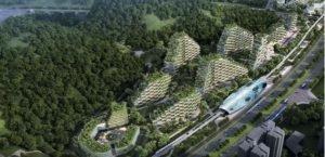 اولین شهر-جنگل در چین ۲