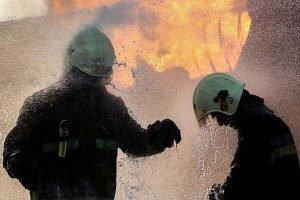 آتشسوزی در کارخانه خاوران ۲