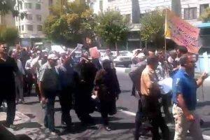 تظاهرات مالباختگان کاسپین