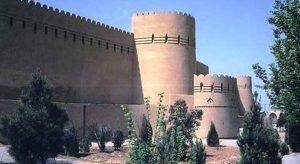 یزد - برج و باروی قدیمی شهر